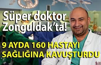 Süper doktor Zonguldak'ta!