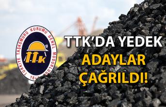 TTK'da yedek adaylar çağrıldı!