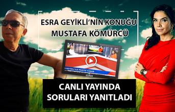 Türk Halk Müziği Koro Şefi Mustafa Kömürcü canlı yayında soruları yanıtladı...