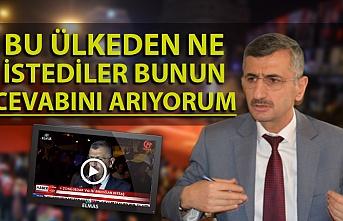 Vali Erdoğan Bektaş: ''İlk anın hassasiyeti ile bütün insanlarımız ayakta''