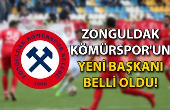 Zonguldak Kömürspor'un yeni başkanı belli oldu!