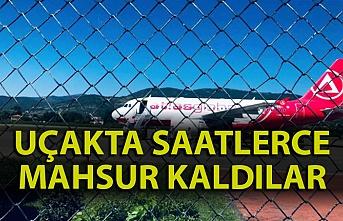 Zonguldak Havaalanı'nda rezalet