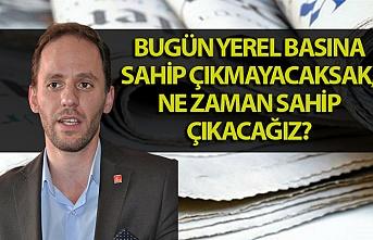 Zonguldak Milletvekili Yavuzyılmaz: ''Yerel basın yok edilmek isteniyor''