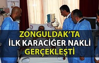 BEÜ'de ilk kez karaciğer nakli yapıldı