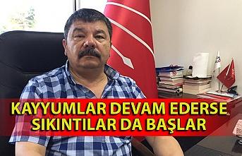 CHP İl Başkanı: ''Kayyumlar devam ederse sıkıntılar da başlar''