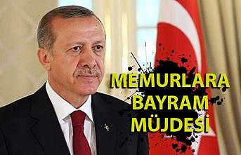 Cumhurbaşkanı Erdoğan'dan kamu çalışanlarına bayram müjdesi
