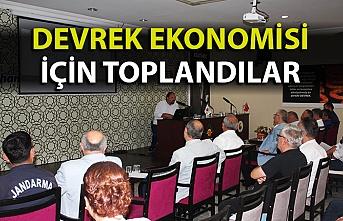Devrek ekonomisi için ortak akıl toplantısı