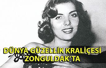 Dünya güzellik kraliçesi Zonguldak'ta