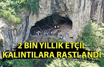 İnönü Mağarası'nda 2 bin yıllık etçil kalıntılar bulundu