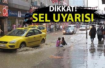 Meteorolojiden Zonguldak için sel uyarısı!