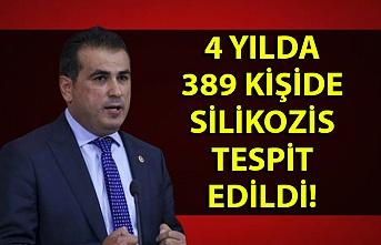 Milletvekili Demirtaş: ''4 yılda 389 kişide silikozis tespit edildi''