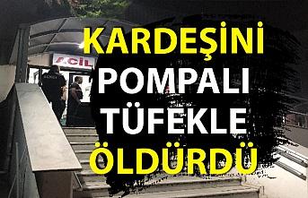Zonguldak'ta korkunç cinayet! Öz kardeşini tüfekle öldürdü