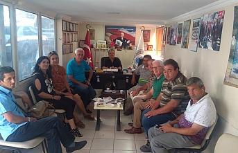 Türkiye Sakatlar Derneği'nde bayramlaşma