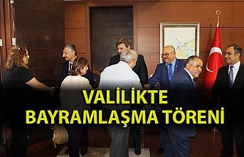 Zonguldak Valiliğinde bayramlaşma