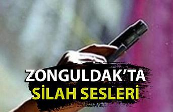 Zonguldak'ta silah sesleri yükseldi
