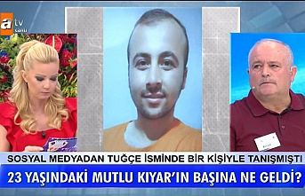 """24 gündür kayıp Zonguldaklı genç Müge Anlı'nın sunduğu """"Tatlı Sert"""" programında aranıyor"""
