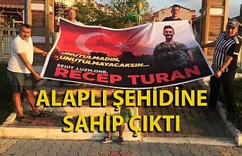 Alaplı Şehit Recep Turan'ı anıyor
