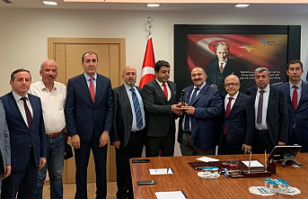 Başkent Zonguldaklılar Derneği İŞKUR Genel Müdürü Uzunkaya ile görüştü