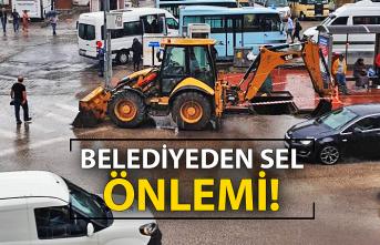 Belediye sele karşı önlemler aldı