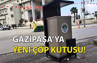 Gazipaşa'ya yeni çöp kutusu!