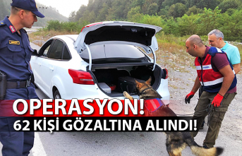 Operasyon: 62 kişi gözaltına alındı!