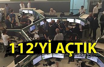 Zonguldak 112 Çağrı Merkezi bugün açıldı; Artık tüm ihbarlar tek bir numaraya!