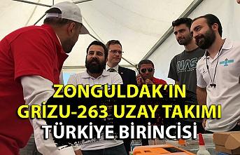 Zonguldak'ın Grizu-263 Uzay Takımı Türkiye birincisi oldu