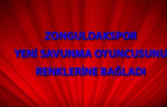 Zonguldak Kömürspor'a bir yeni transfer daha!