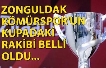 Zonguldakspor'un kupadaki rakibi belli oldu...