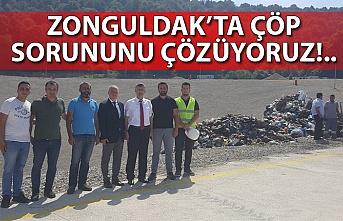 Zonguldak'ta çöp sorununu çözüyoruz!..