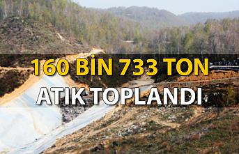 160 bin 733 ton atık toplandı...