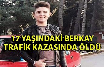17 yaşındaki genc trafik kazasında hayatını kaybetti