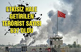 Barış Pınarı Harekatı'nda 8'inci gün