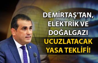 Demirtaş'tan, Elektrik ve Doğalgazı ucuzlatacak yasa teklifi!