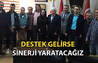 ''DESTEK GELİRSE SİNERJİ YARATACAĞIZ''