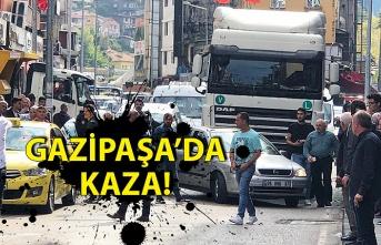 GAZİPAŞA'DA KAZA!