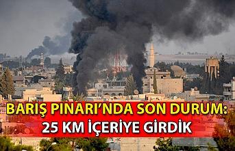 Son dakika… Barış Pınarı Harekâtı'nda son durum