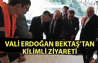 Vali Erdoğan Bektaş'tan Kilimli ziyareti