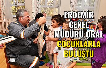 Erdemir Genel Müdürü Oral çocuklarla buluştu