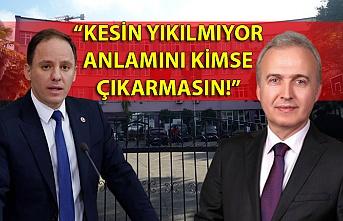 """""""KESİN YIKILMIYOR ANLAMINI KİMSE  ÇIKARMASIN!"""""""