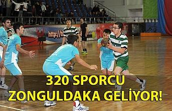 320 sporcu, 40 idareci ve antrenör Zonguldak'a geliyor