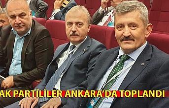 AK Partililer Ankara'da toplandı