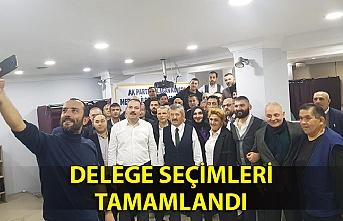 DELEGE SEÇİMLERİ TAMAMLANDI