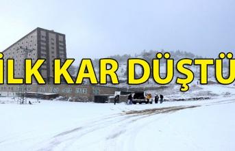 İlk kar düştü...