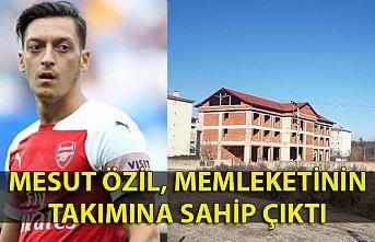 Mesut Özil, memleketinin takımına sahip çıktı