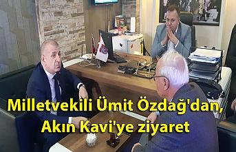 Milletvekili Ümit Özdağ'dan, Akın Kavi'ye ziyaret