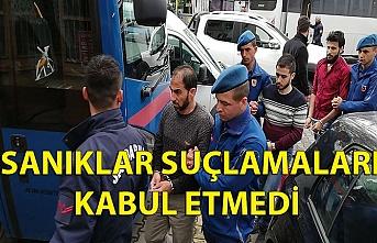 SANIKLAR SUÇLAMALARI KABUL ETMEDİ