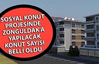 Sosyal konut projesinde Zonguldak'a yapılacak konut sayısı belli oldu