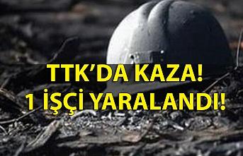 TTK'da kaza: 1 işçi yaralandı!