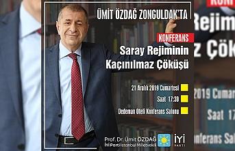 Ümit Özdağ Zonguldak'a geliyor...